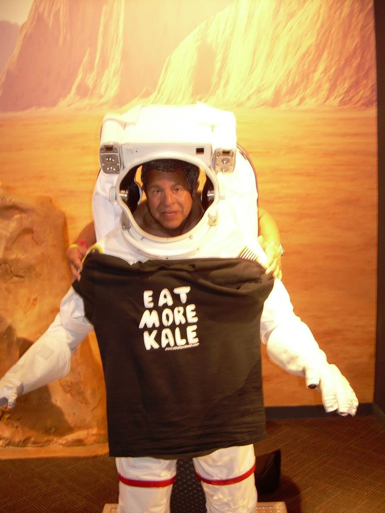 kale in space
